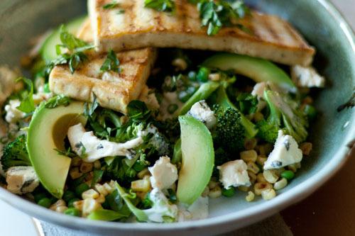 Salad, Chicken, Avocado
