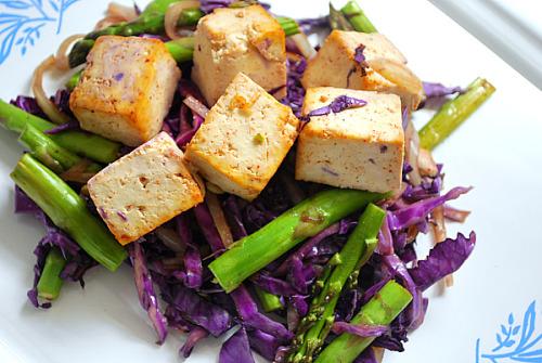 Salad, Tofu