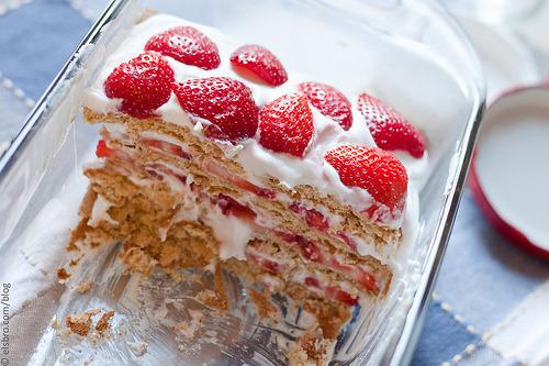 Pie, Strawberry