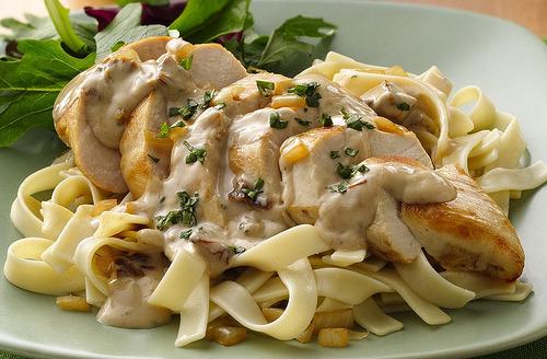 Chicken, Pasta