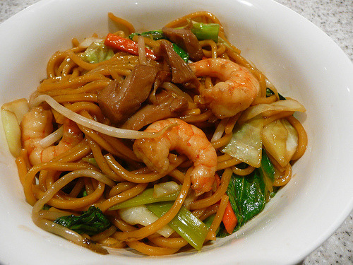 Prawn, Shrimp, Noodles