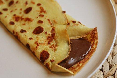 Crepe, Chocolate