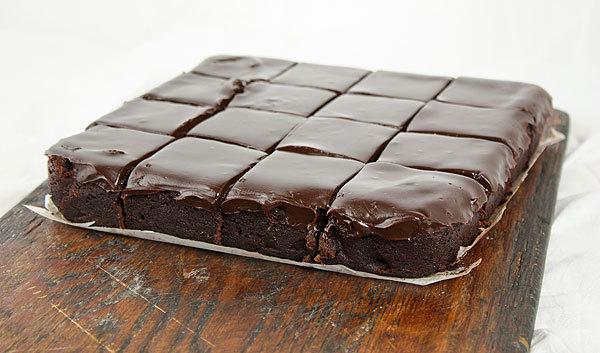 Espresso Truffle Brownies