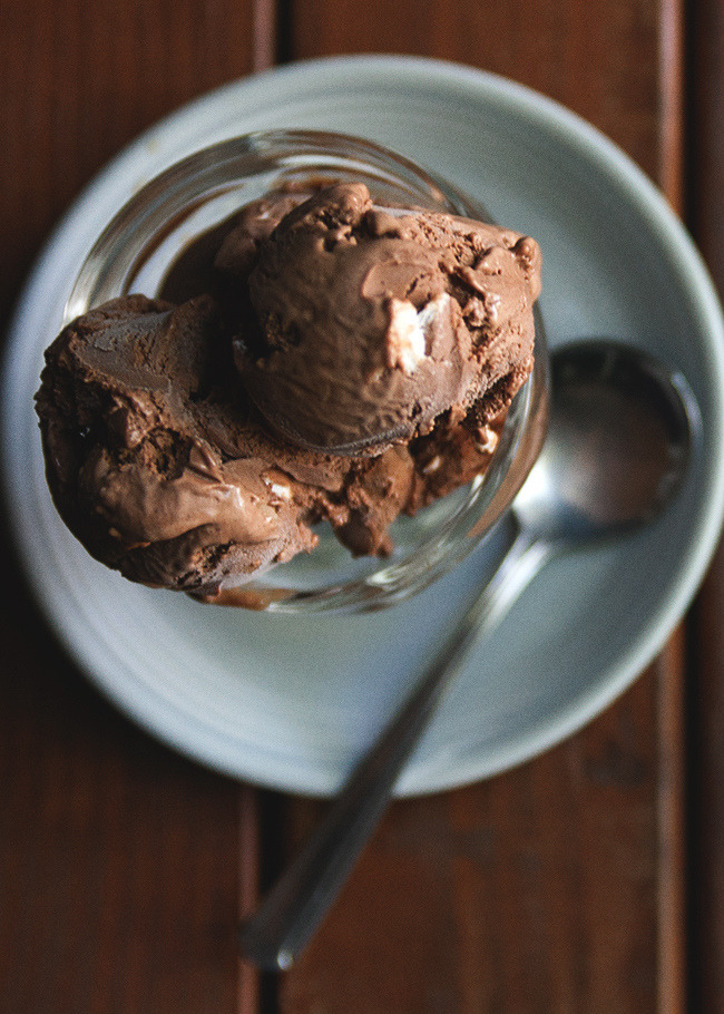 Rocky road ice cream (by lindaspeakeasy)