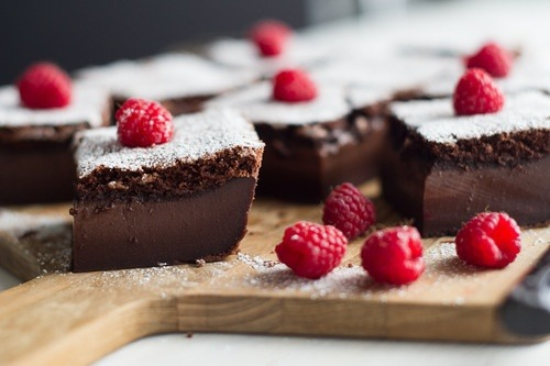 Raspberry, Cake, Chocolate
