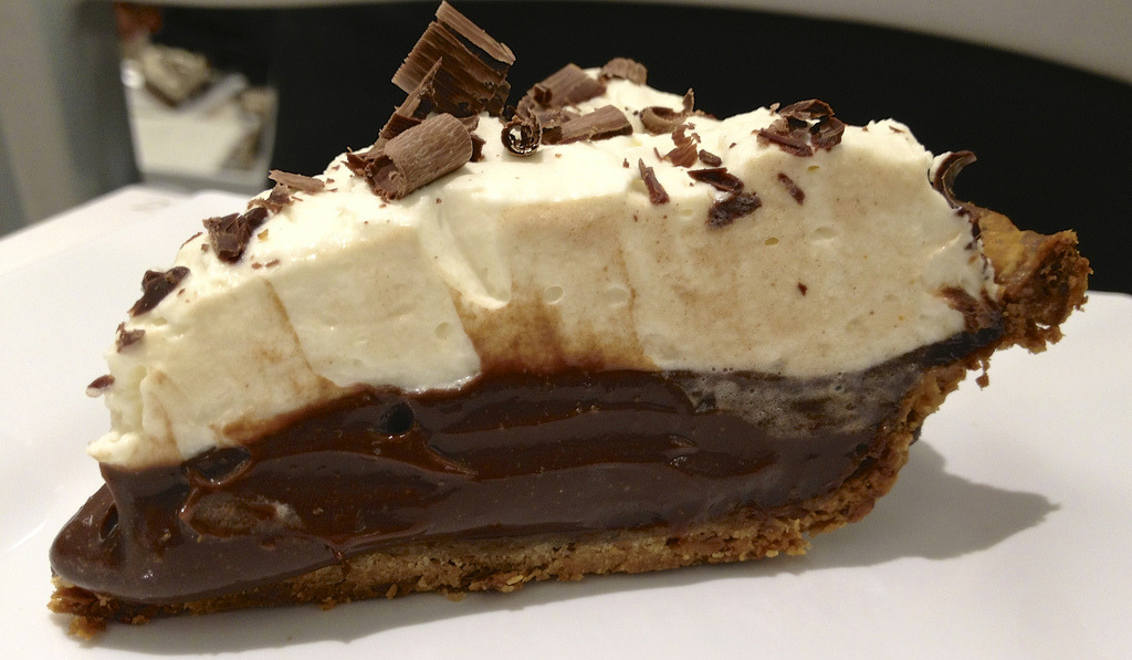 Silk Chocolate Cream Pie