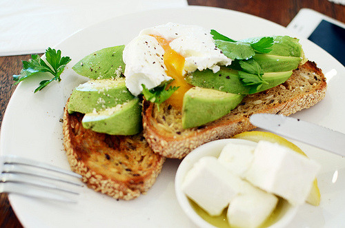 Eggs, Avocado
