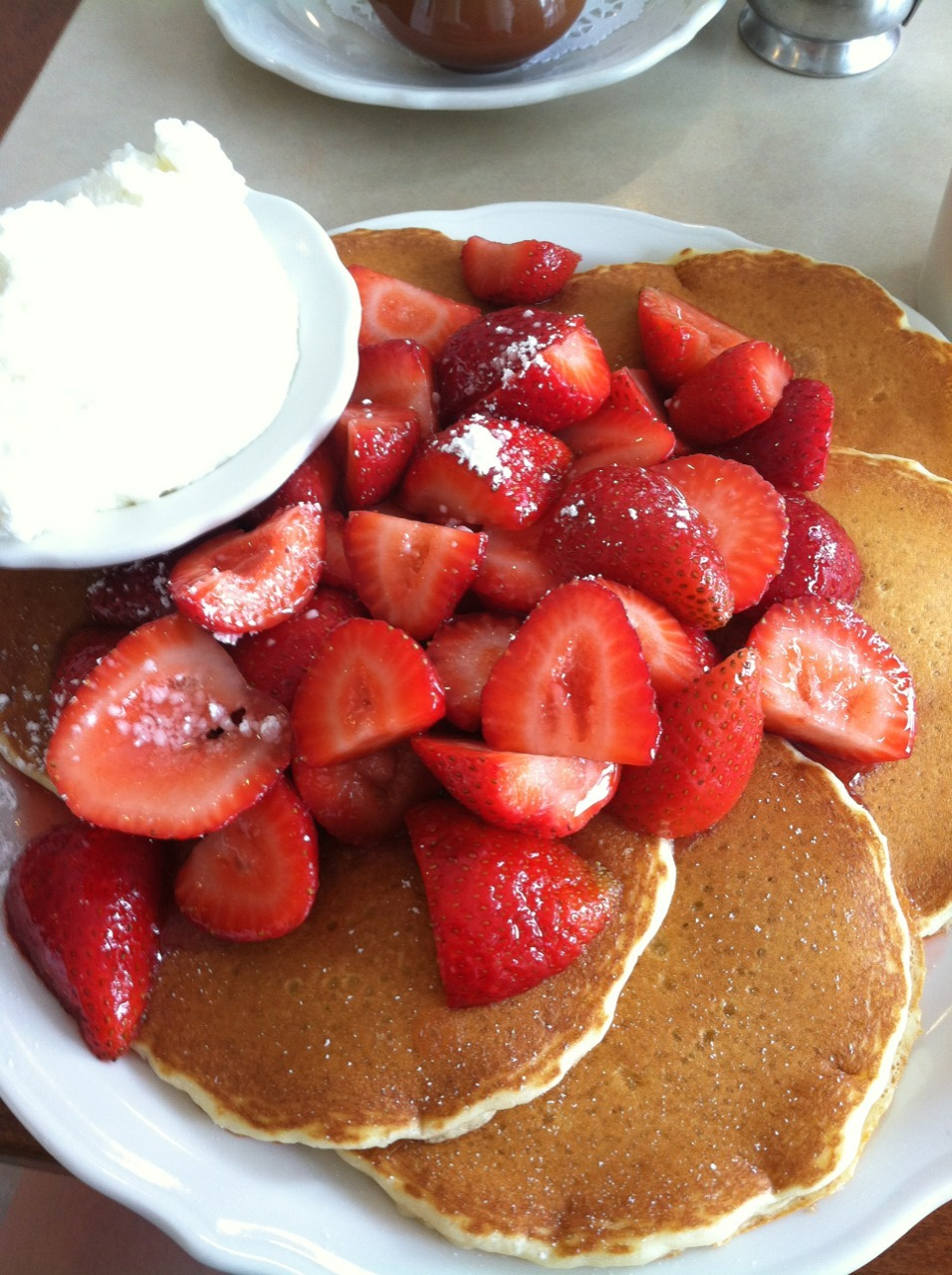 Strawberry, Pancake