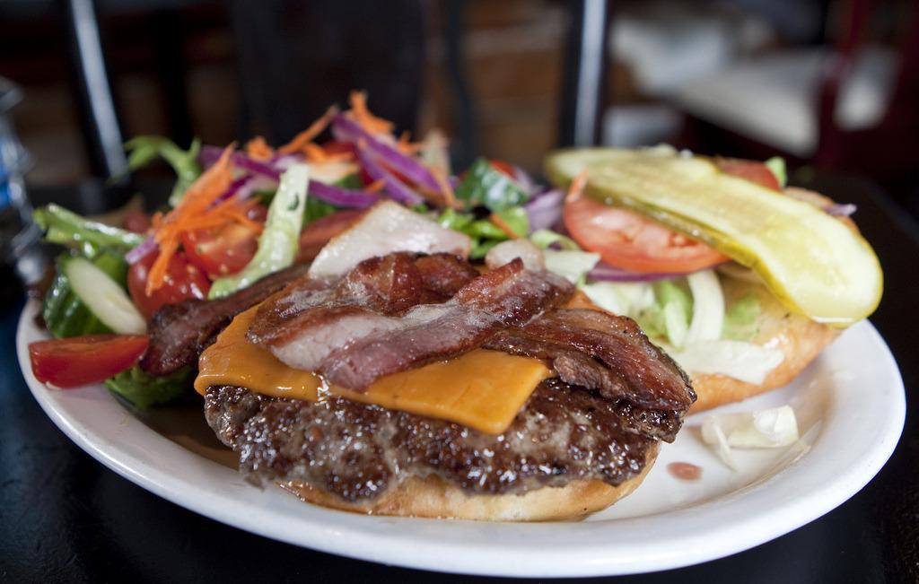 Smoked Bacon Hamburger