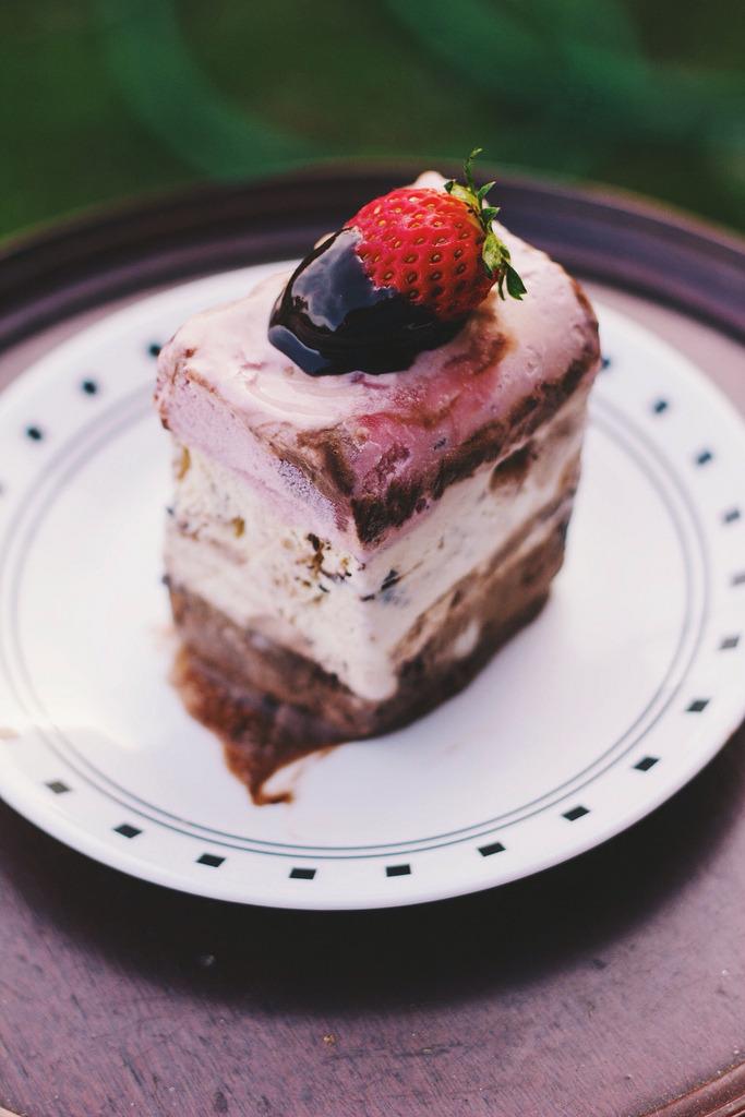 Triple Threat Ice Cream Cake