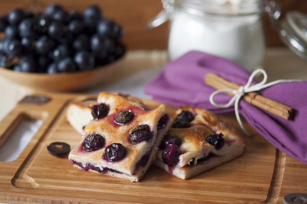 Recipe: Grape Schiacciata