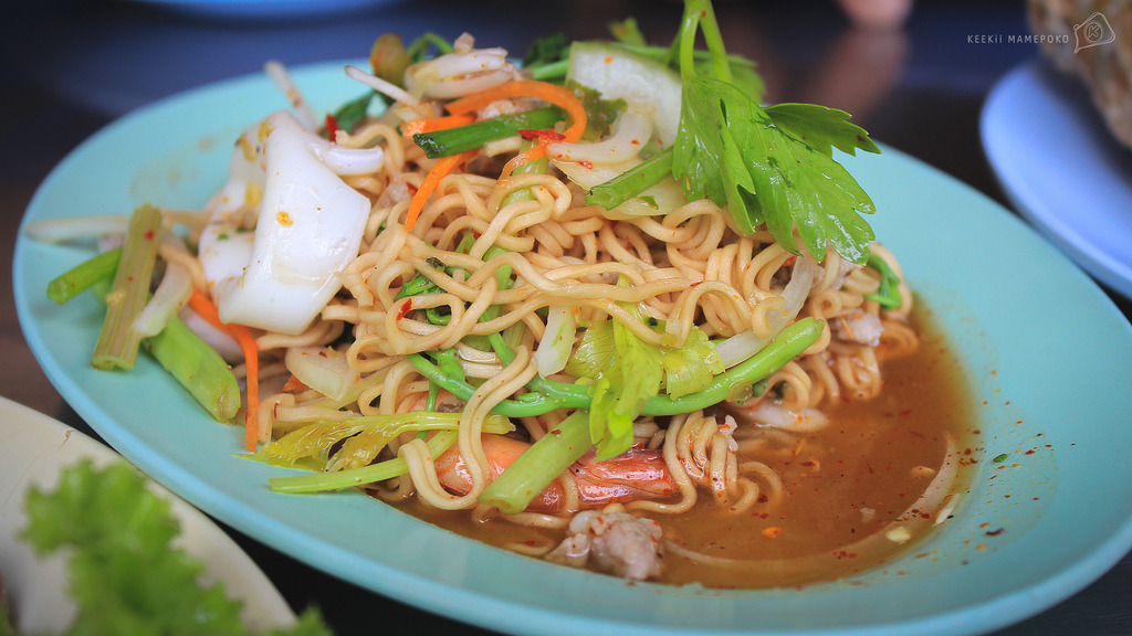 Thai Instant Noodle Salad