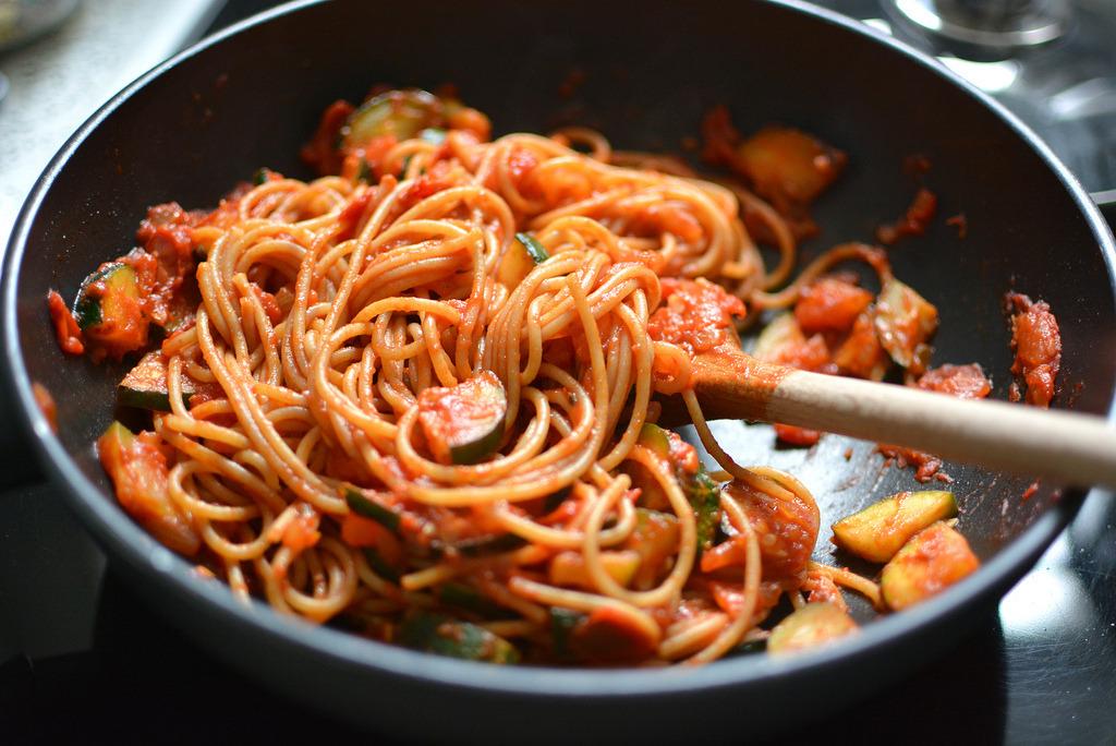 Schnelle Spaghetti