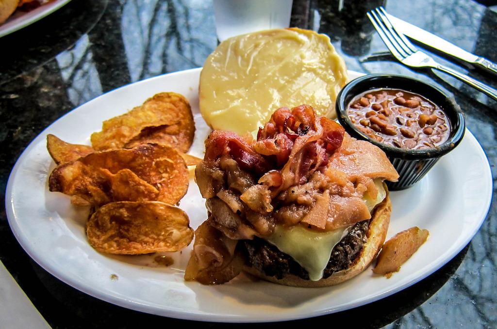 Apple Bacon Burger