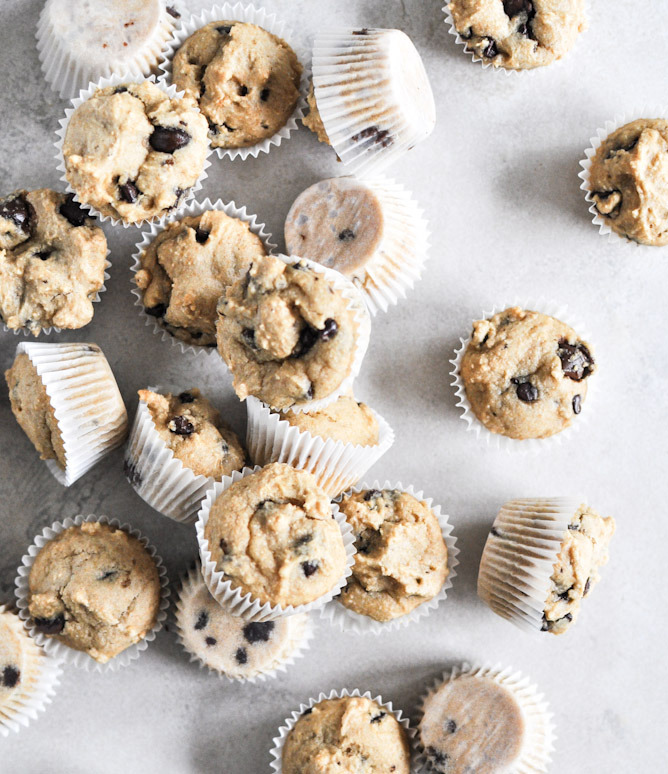 Recipe: Mini Whole Wheat Chocolate Chip Muffins