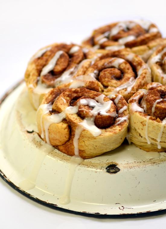 Cinnamon Rolls (Yeast Free) A Dash of Compassion