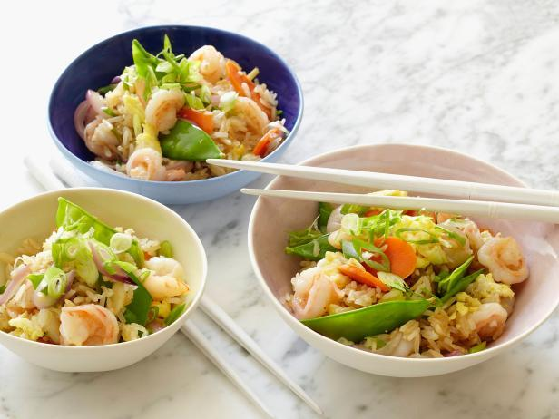 Skip delivery tonight, and opt for Takeout-at-Home Fried Rice, filled with seasonal vegetables and fresh ginger.