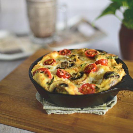 Mushroom Cherry Tomato and Zucchini Follow