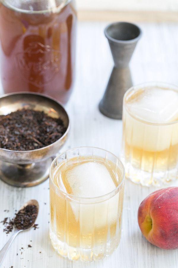 Peach Tea & Rum Cocktail (Source