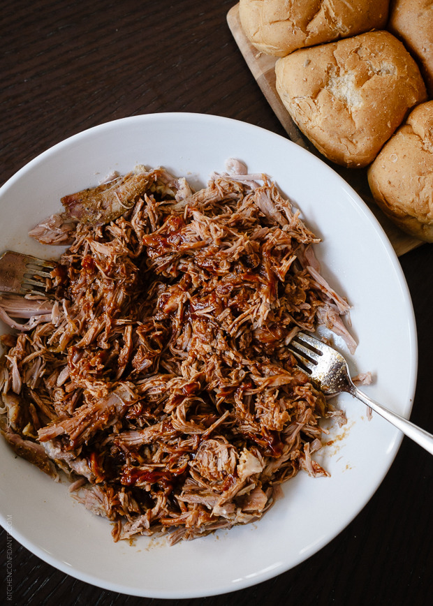 Slow Cooker Stout Pulled Pork