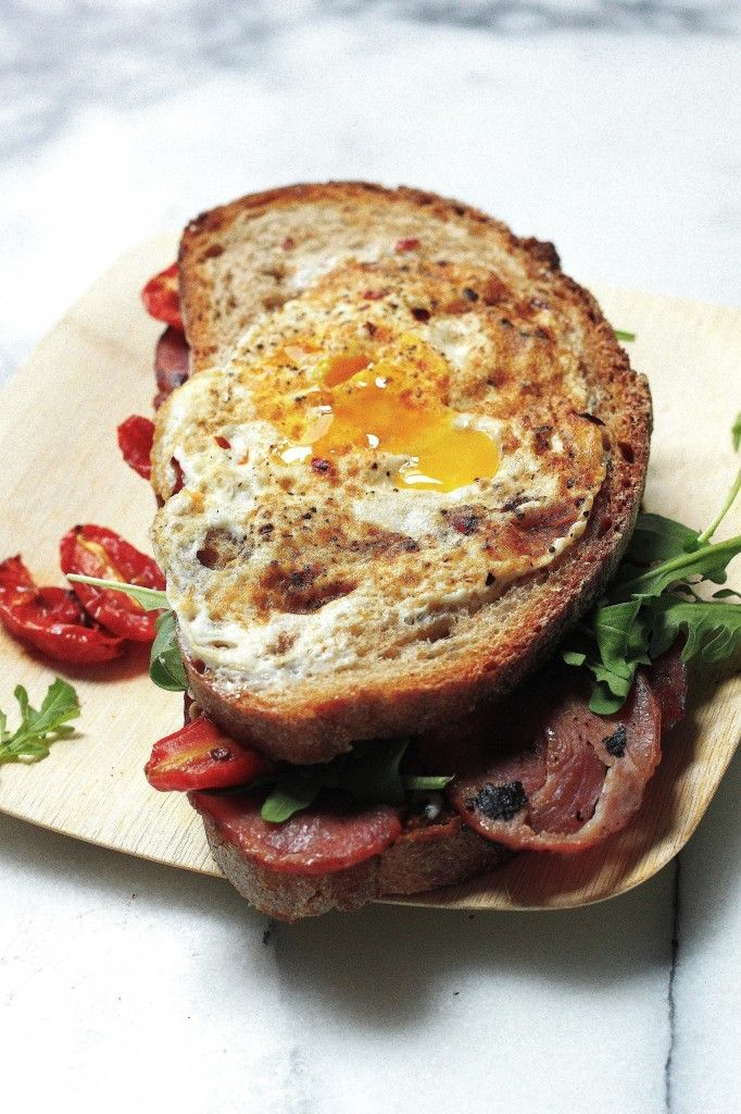 Bird's Nest Breakfast BLT